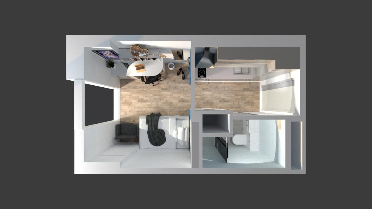 1401_Bedroom_Studio - VRAY 22