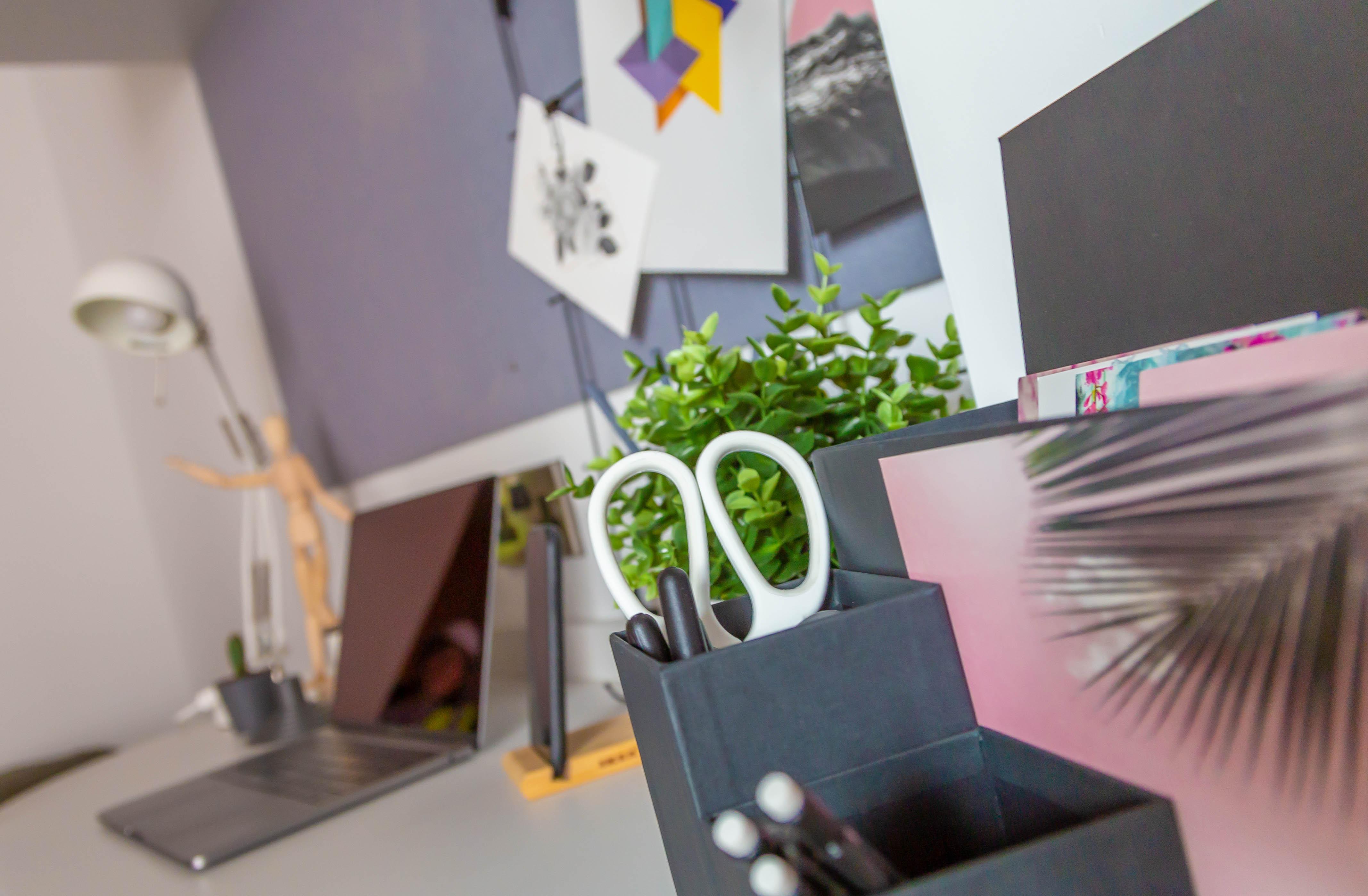 Studio Desk Space Close Up